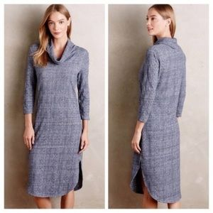 Anthropologie Saturday Sunday Cowled Chemise Dress